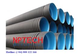 ống hdpe 2 vách thoát nước