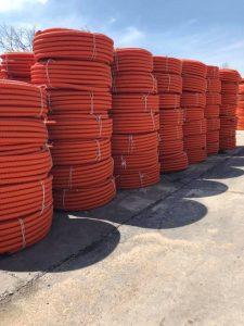 ống nhựa gân xoắn HDPE nhãn hiệu NP TECH